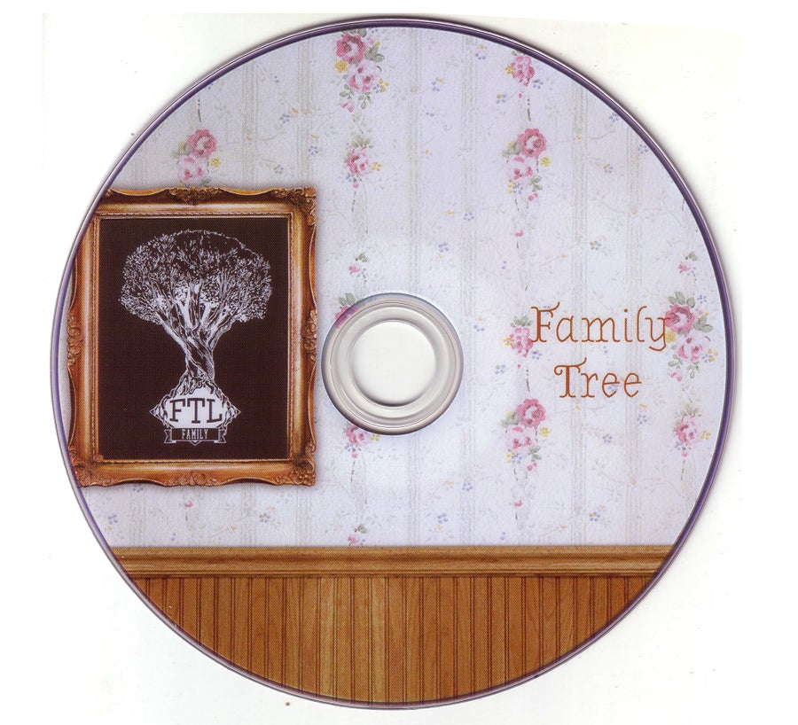 "Image of FTL ""Family Tree"" video-disc"