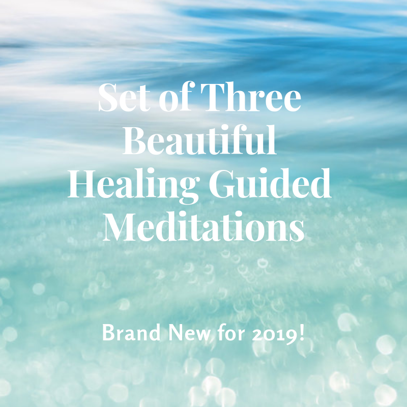 Set of Three Beautiful Guided Meditations to Connect with Archangel Raphael  & Angelic Healing
