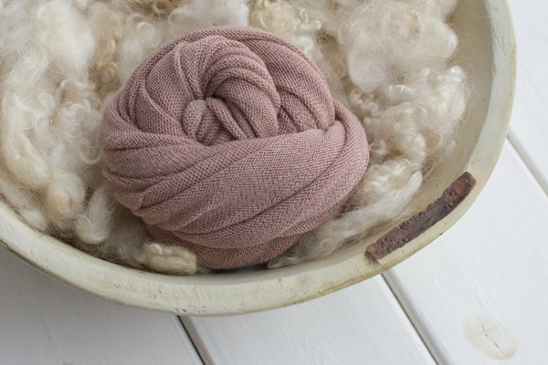Image of Dusty pink stretch wrap