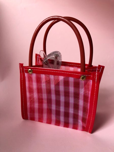 Image of Chivata Red & Pink Gingham