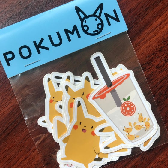 Image of Pokumon Stickers