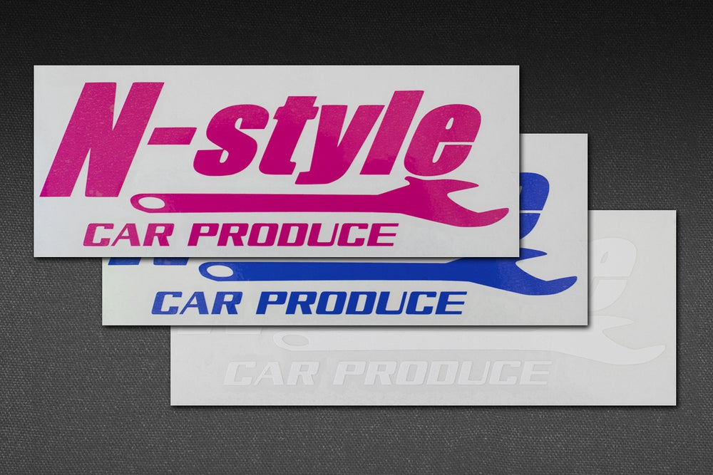 Image of N-STYLE CAR PRODUCE STICKER