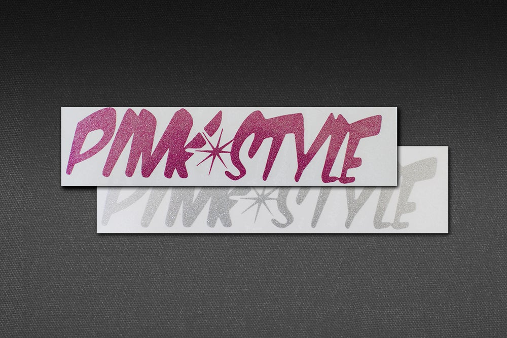 Image of PINK STYLE SMALL STICKER