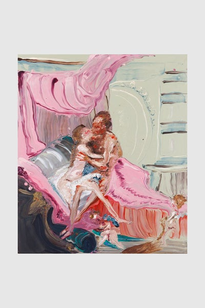 Image of Genieve Figgis - Heracles and Omphale (after Francois Boucher)