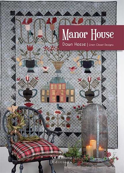 Image of Manor House project booklet PRE ORDER- SHIPS @END OF FEBRUARY