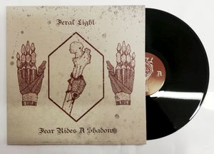 "Image of FERAL LIGHT ""Fear Rides A Shadow"" LP"