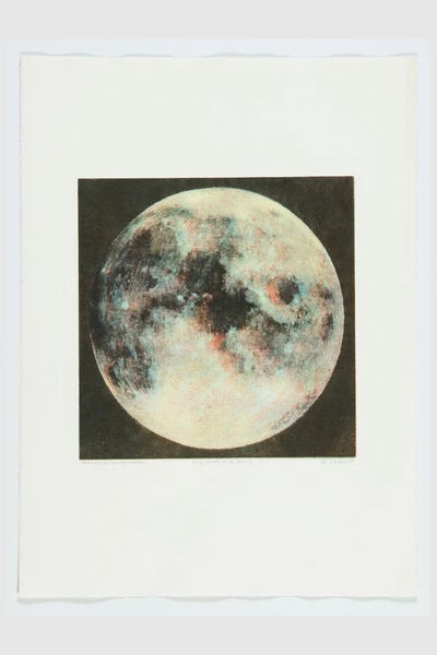 Image of Ida Tursic & Wilfried Mille - 5 phases de la lune I (Unique monotype)