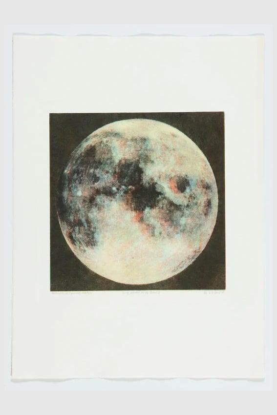 Image of Tursic & Mille - 5 phases de la lune I (Unique monotype)