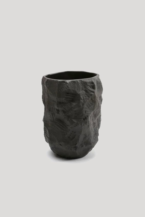Image of Max Lamb - Crockery Vase, Black
