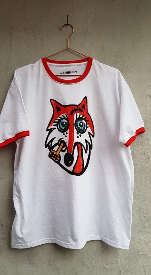 Image of Muggen ræv ringer T-shirt