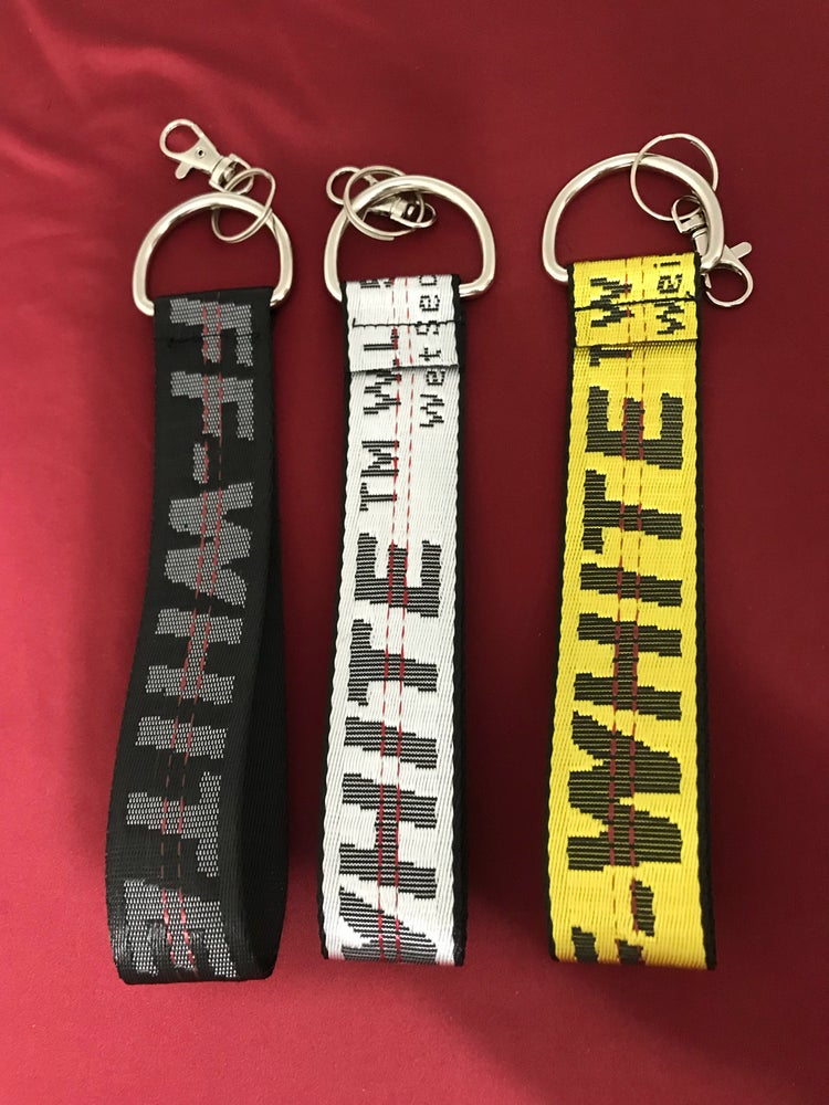 Image of 3 pack custom keychains