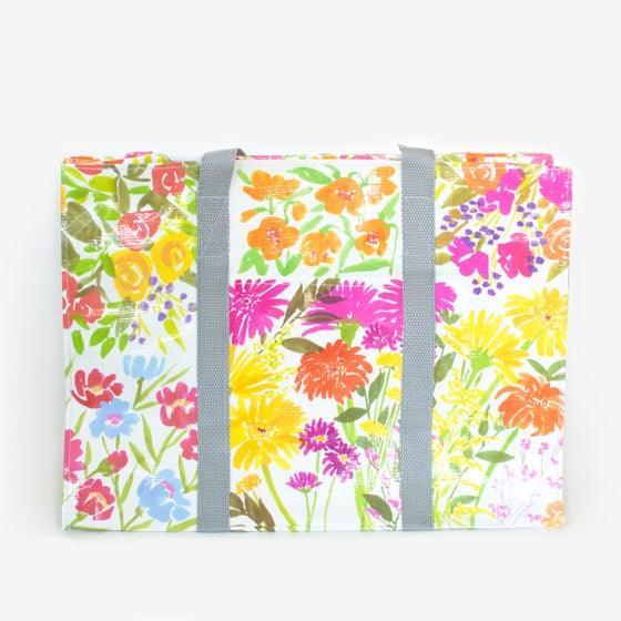 Image of Flower Garden Shoulder Tote