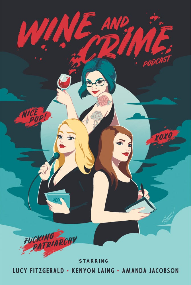 Image of W&C Gals Poster