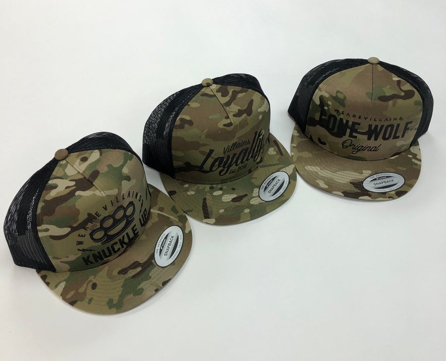 Image of MultiCam SnapBack hats