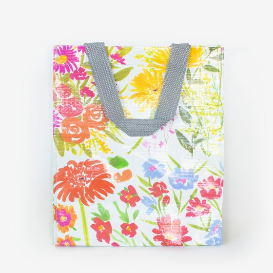 Image of Flower Garden Handy Tote