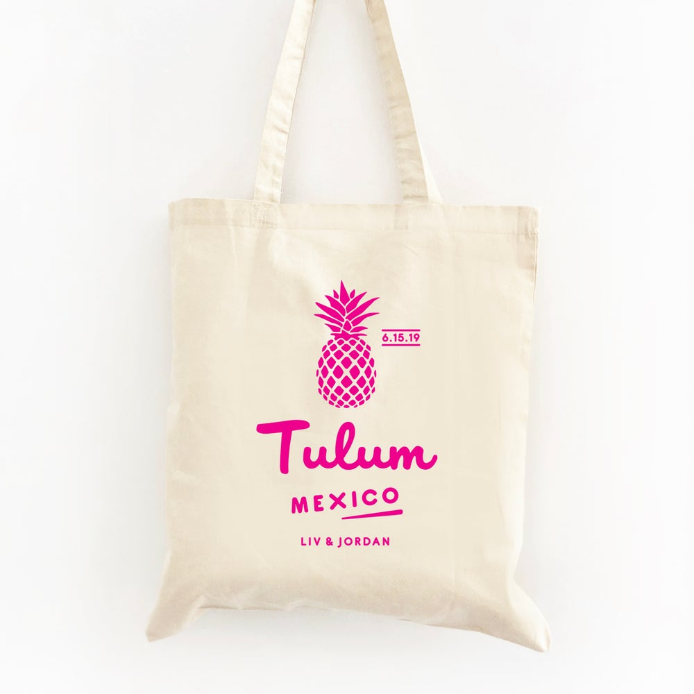 Image of Customizable Pineapple Tote