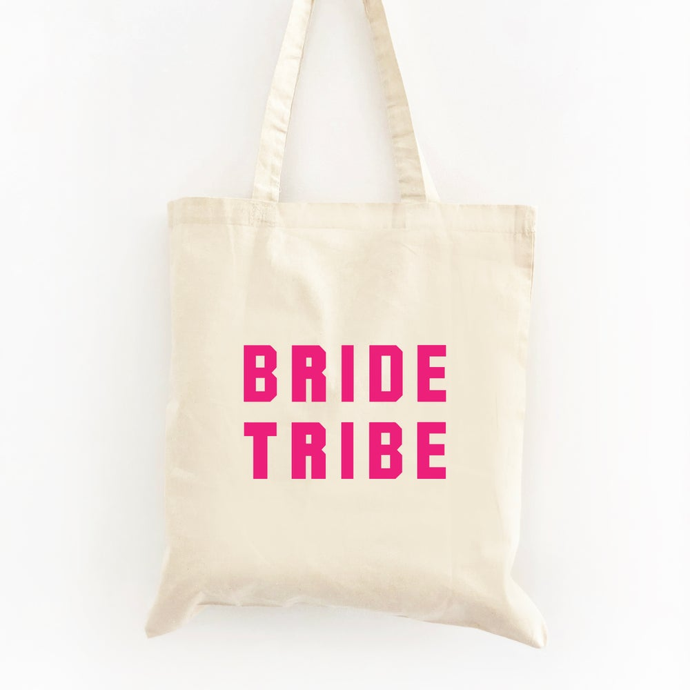 Image of Bride Tribe Tote Bag