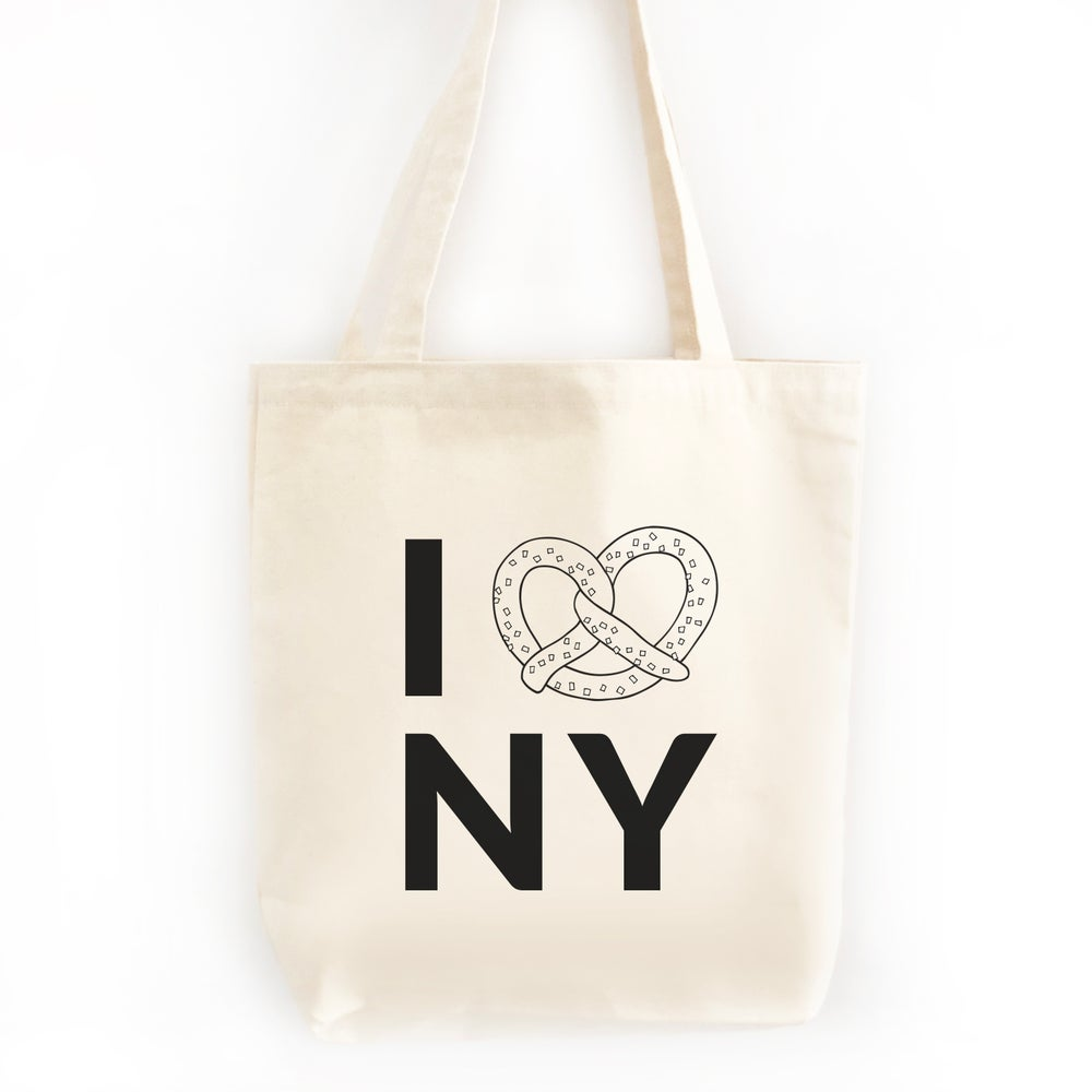 Image of I Pretzel NY Tote Bag