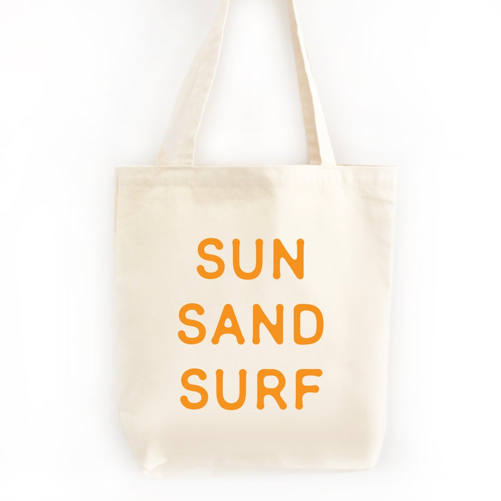 Image of Sun Sand Surf Tote Bag