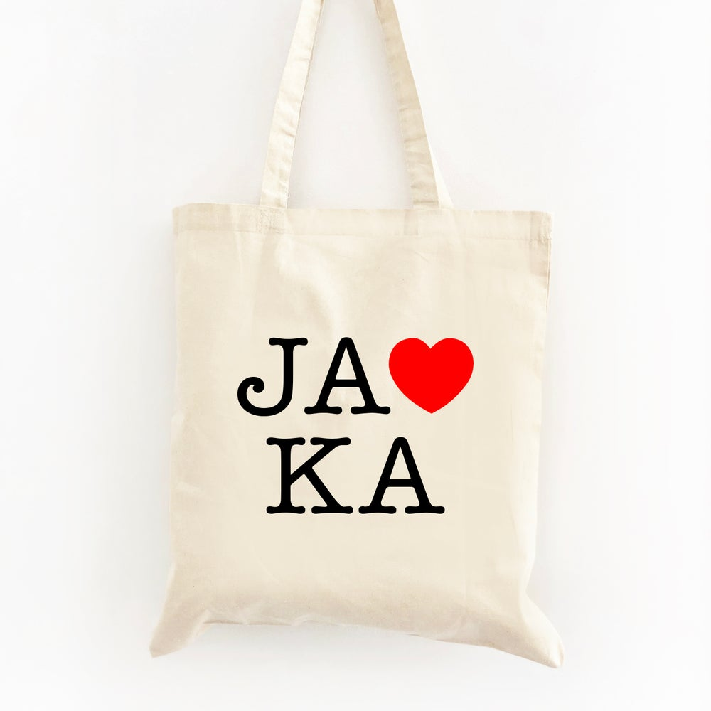 Image of Customizable NY Themed Wedding Welcome Tote Bag