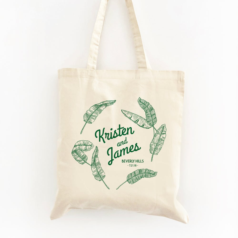 Image of Customizable Banana Leaf Tote