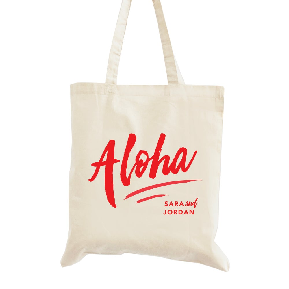 Image of Customizable Aloha Tote