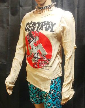 Image of Classic destroy crucified jesus swastika bondage shirt