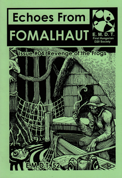 Image of Echoes From Fomalhaut #04: Revenge of the Frogs