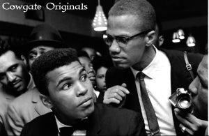 Image of Malcolm X/ Ali T-Shirt