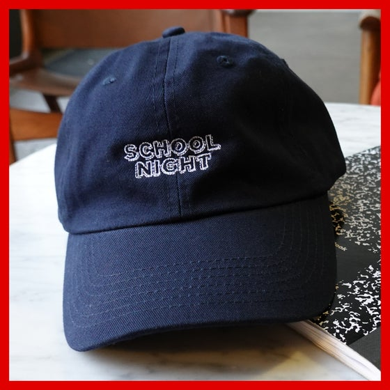 Image of School Night Embroidered Dad Hat
