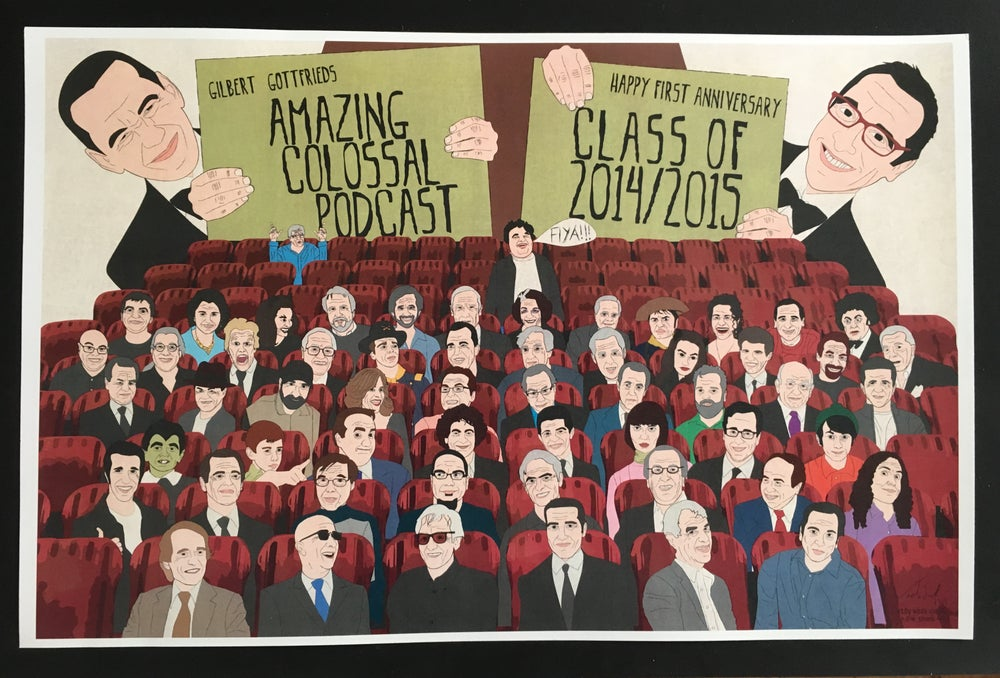 Image of Test print - GGACP One Year Anniversary poster