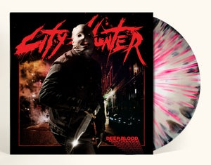 "Image of CITY HUNTER ""DEEP BLOOD: INFINITE MADNESS"" LP LIM. 100"