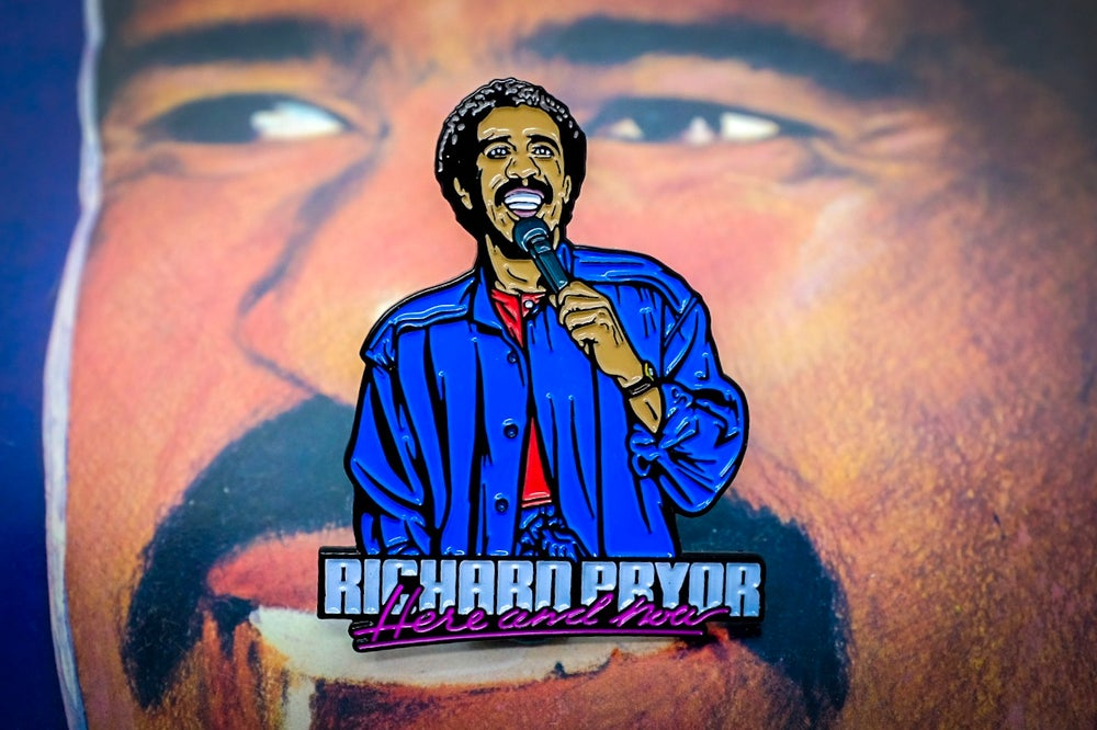 Richard Pryor - Here and Now Enamel Pin