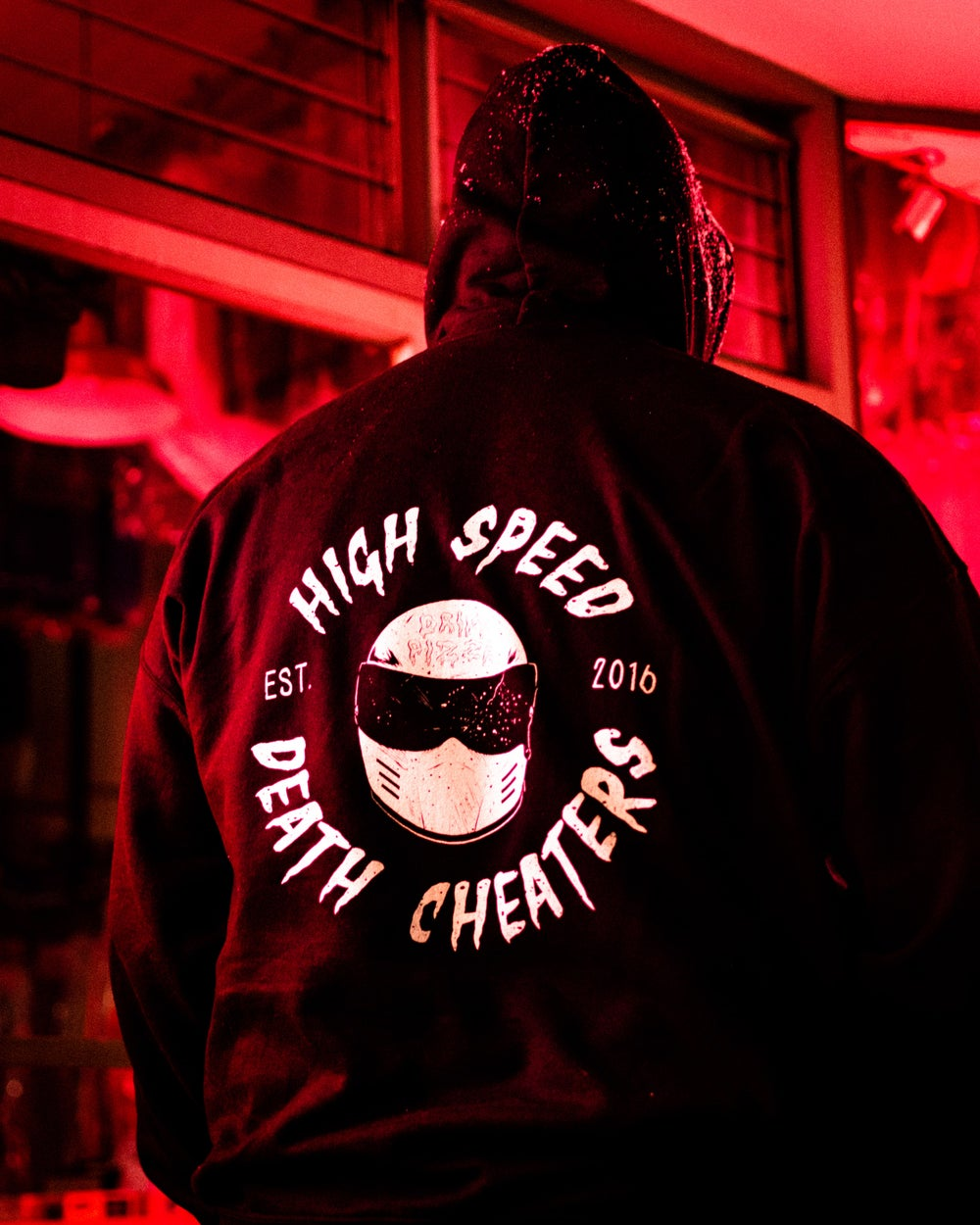 Image of High Speed Death Cheaters Hoodie