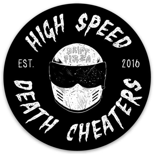 Image of High Speed Death Cheater Sticker