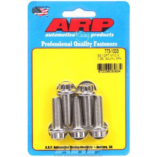 Image of Stainless ARP Bolt Kit for Front Caliper Adapters