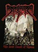 Image of DISMA - THE LOST VAULT OF CHAOS BLACK T-SHIRT