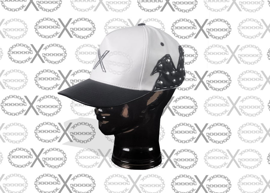 Image of CUSTOM LEATHER SNAPBACKS - STARTING AT $100