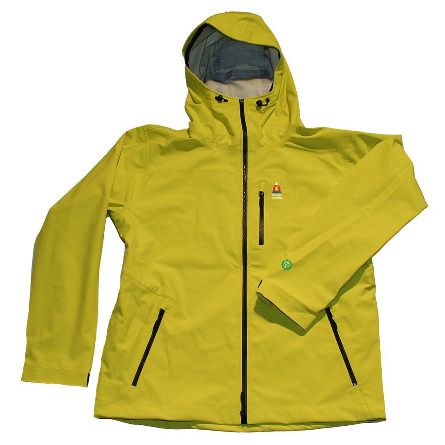 Image of ANTERO 3 POLARTEC NEOSHELL HARDSHELL+ STRETCH Touring SKI WINTER JACKET LEMON