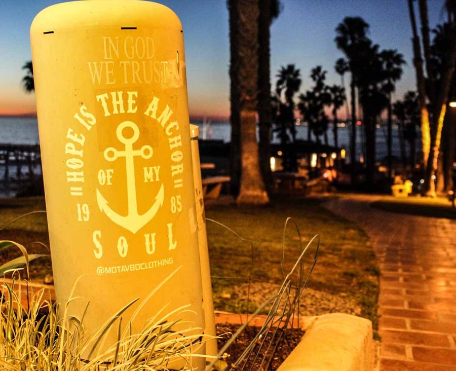 Image of Hope Is The Anchor - Vinyl Decal