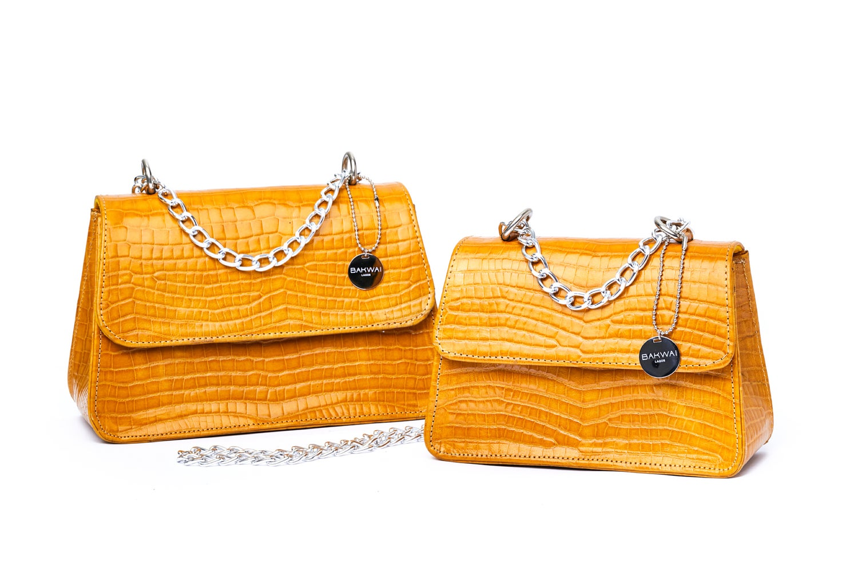 Image of Yellow Mini Tee Bag