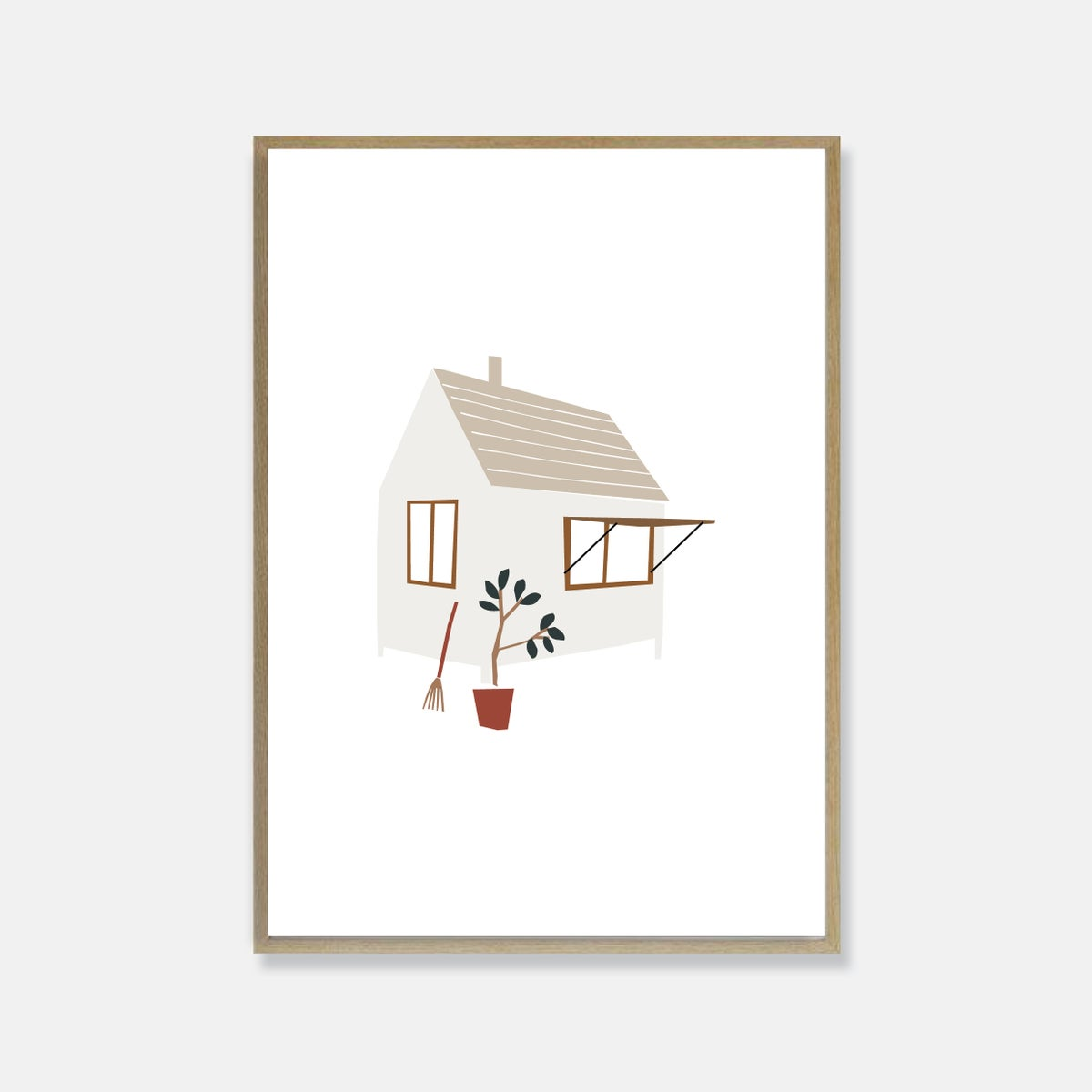 Image of Happy place print
