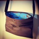 Image 1 of Custom Waxed cotton musette