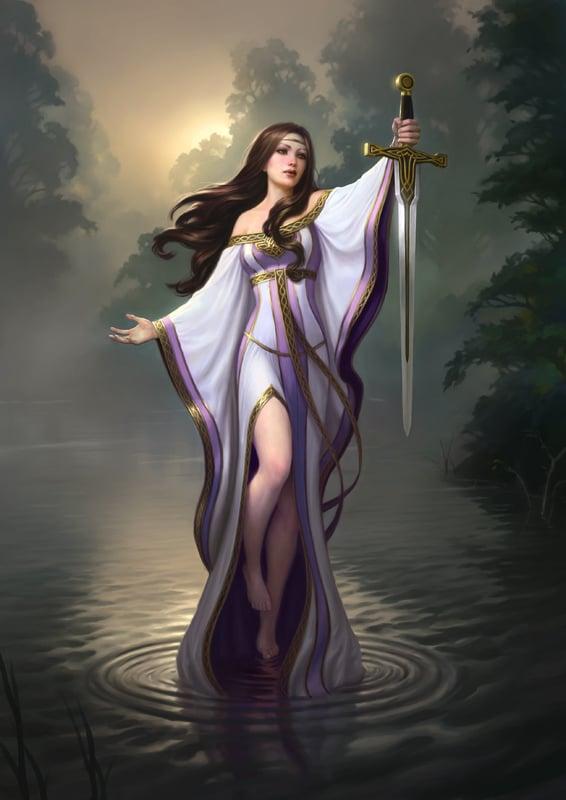 Lady of the Lake   James Ryman