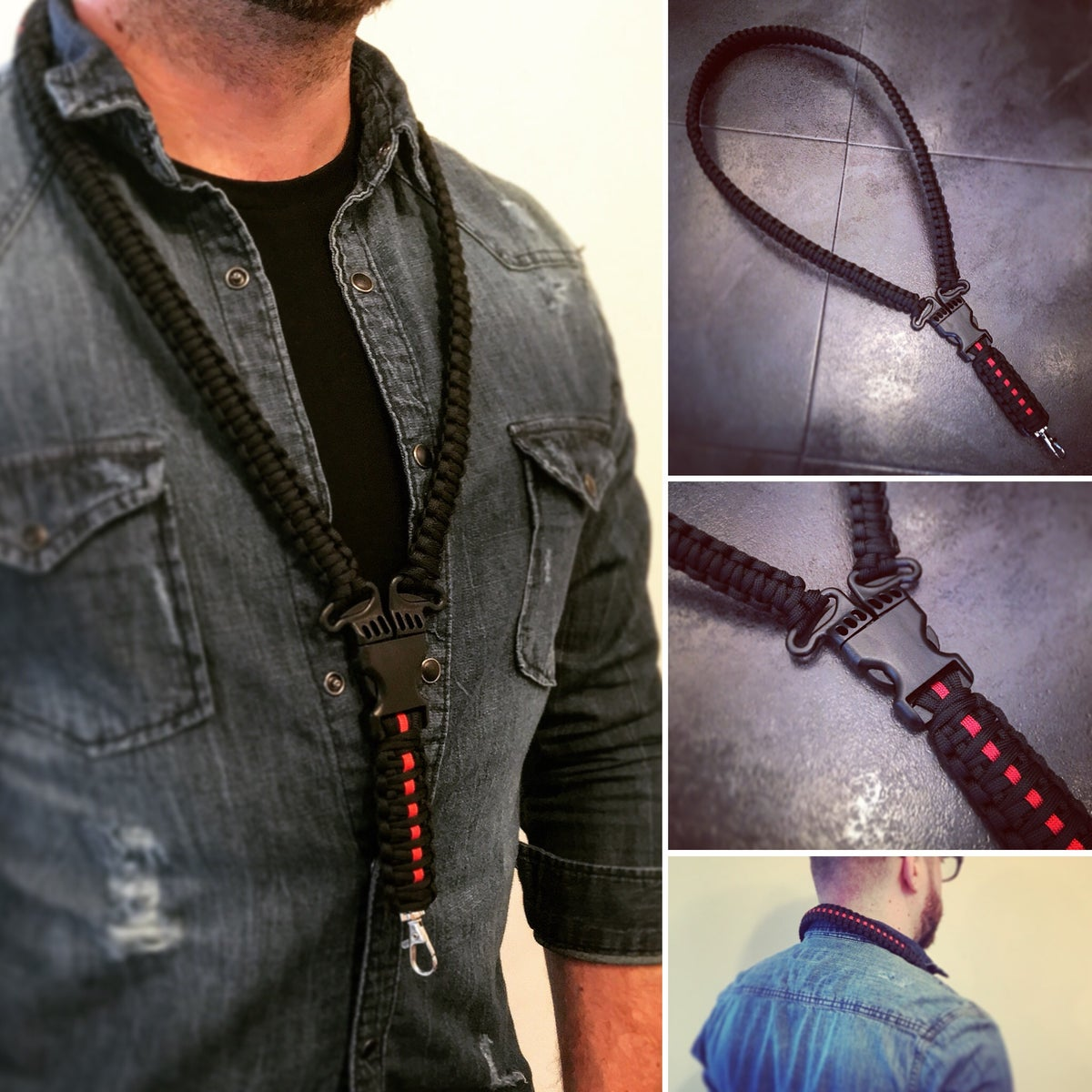 Image of The KMP 'Ultimate' Paracord Lanyard