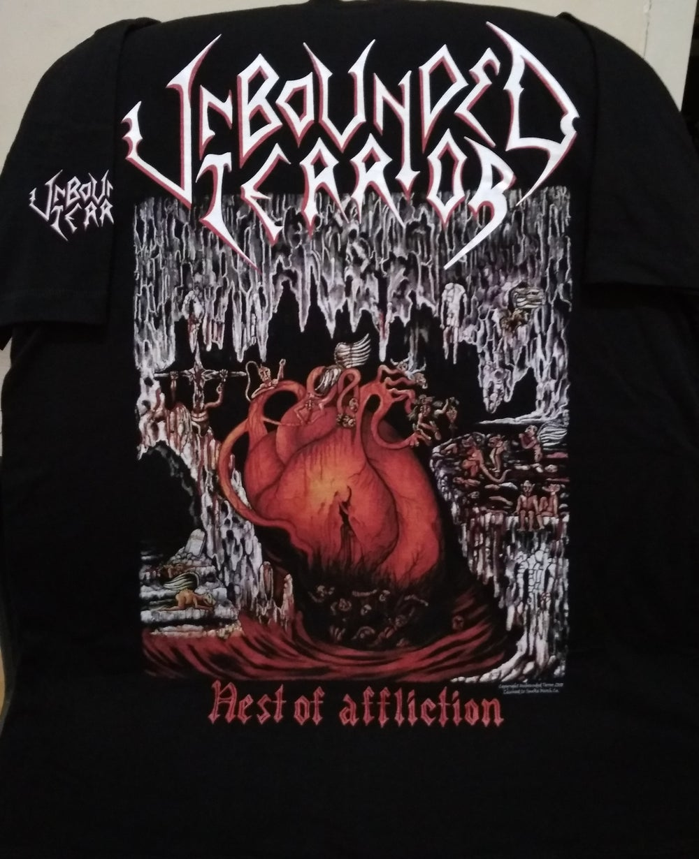 "Image of UNBOUNDED TERROR ""Nest Of Affliction"" ( SPAIN )"