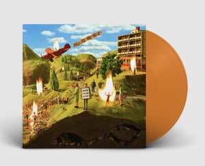 Image of Plastic Mermaids - Suddenly Everyone Explodes - Limited Edition Orange Vinyl (PRE ORDER)