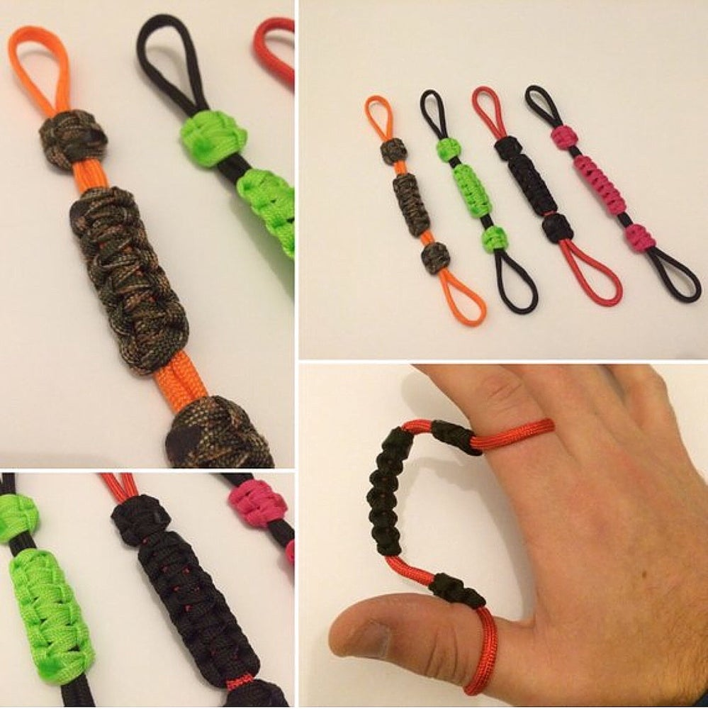 Image of KMP Paracord Archery Finger Slings