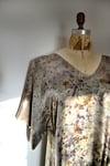 Kimono Wrap silk dress