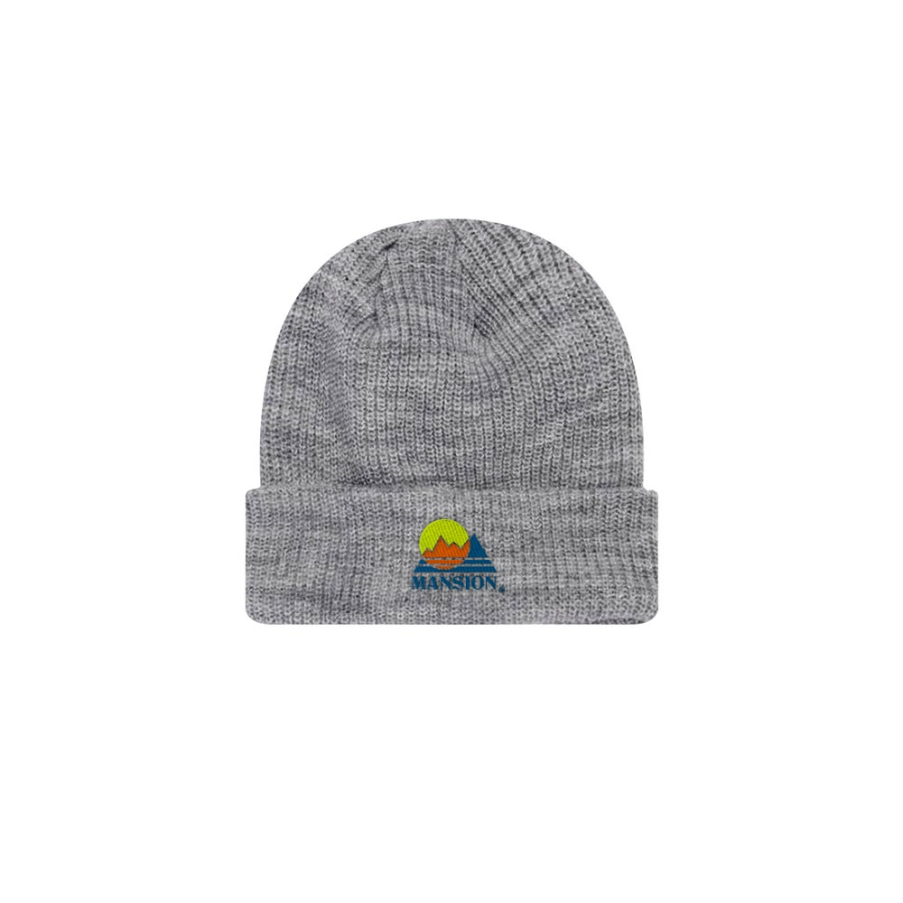 Image of Grey Mansion Mountain Beanie